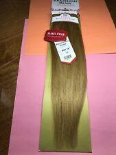 "SAGA BRAZILIAN REMY 14""_#27_100% HUMAN HAIR_WEAVE STRAIGHT EXTENSION"