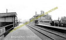 Rossington Railway Station Photo. Bawtry - Doncaster. Great Northern Railway (1)