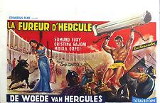 URSUS Orig Belgian Poster-Sword & Sandal Ed Fury Bullfight Sacrifice of Woman