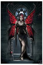 ANNE STOKES =POSTER= Arcnafaria Butterfly spider NEW
