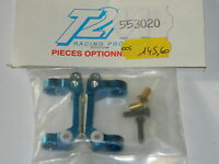 T2M 553020 pieces chassis en ALU aluminium BLEU support HOLDER blue rc parts