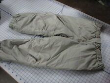 primaloft GEN III pants trousers USA lvl 7 sage green military issue large reg
