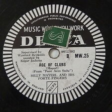 78rpm BILLY MAYERL ace of hearts / ace of clubs