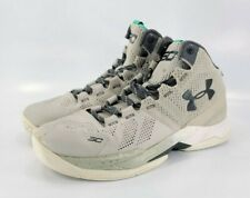 Under Armour Curry 2 The Storm Running Shoe Boys Size 6 1270617-052 Grey Black