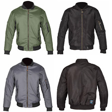 Spada Air Force 1 Motorcycle Motorbike Jacket Bomber WP Breathable Summer