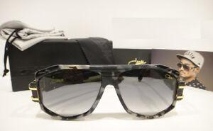 Cazal 163/3 Sunglasses Beastin 163 Color 090 Black Marble Gold Authentic New