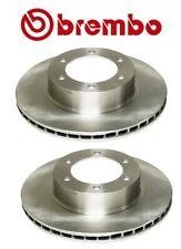 For Toyota 4Runner Tacoma Pair Set of 2 Front Disc Brake Rotors UV Coated Brembo