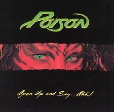Open Up and Say...Ahh! by Poison (CD, May-1988, Capitol)