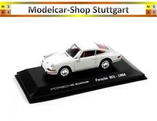 Porsche 901 Blanco - Welly 1:43 - MAP01990113 - Nuevo de Fábrica