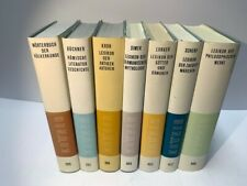 Sieben Bücher Kröner Nachschlagewerke Taschenausgabe