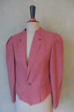 Jacke Janker Trachtenjacke Trachten kurz alt - rosa Größe 40 L   (J1) #