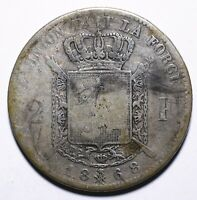 1868 Belgium Two 2 Francs - Léopold II French legend - Lot 600