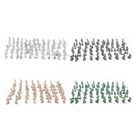 400pcs Assorted Mini Plastic Army Men Figures Soldiers Toy w/Weapons Kits