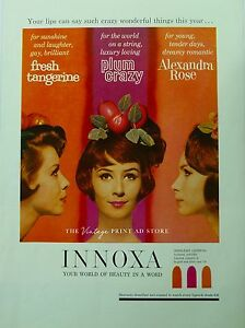 Original INNOXA 1960s Vintage Print Ad