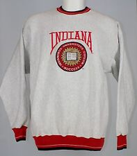 Vtg 90's Legends Athletic - Indiana Hoosiers Embroidered Sewn XL Sweatshirt Exce