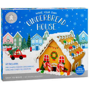 New Delicious and Fun, Make Your Own Gingerbread House For Kids Xmas Gift 560g.