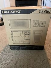 New RIOTORO Mid Tower Gaming Case with Clear Window Panel,Full ATX Support,120mm