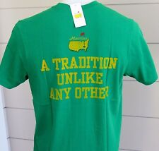 Masters GREEN T-Shirt Youth LARGE  A TRADITION UNLIKE ANY OTHER 47 Brand