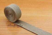 5 yards 1 inch( 25 mm ) heavy weight cotton webbing key fob strap ZC46