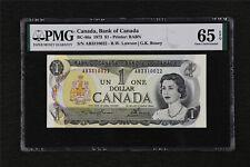 1973 Canada Bank of Canada BC-46a 1 Dollar PMG 65 EPQ Gem UNC