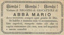 W6439 Negozio giocattoli Abbà Mario - Saluzzo - Pubblicità 1904 - Advertising