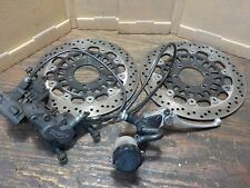 1999 TRIUMPH SPRINT ST 955i 955 FRONT BRAKES CALIPER MASTER CYLINDER LEVER ROTOR