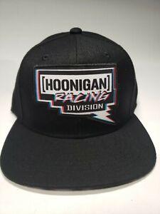 Hoonigan Racing Division Pennzoil Adult Unisex Wool Blend Black Cap One Size
