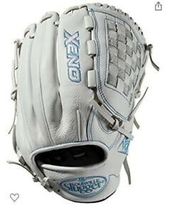 Louisville Slugger XENO 12'' Softball Infield Glove Mitt WTLXNRF1912 White Right