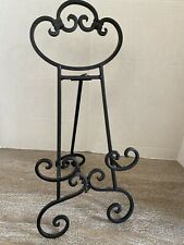 Sturdy Cast Iron Easel Picture Plate Stand