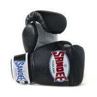Sandee Kids Authentic Boxing Gloves Muay Thai Kickboxing 4oz 6oz 8oz Black White