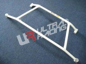 FOR ACURA TL (UA6) 2004-2008 ULTRA RACING 4 POINTS BRACE REAR LOWER SUBFRAME BAR