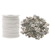 Sustainers for Candle wicks Tabs 15mm x 3 mm Choose from list 50 to 5000 pcs