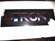 """Oriiginal Tron 23x8"""" vintage arcade game marquee  Midway"""