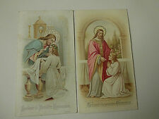 B1815/15   † Old 1900's Belgium  Holy Card Souvenir communion         1