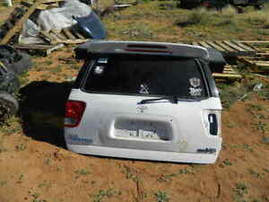2005 2006 2007 TOYOTA SEQUOIA TAILGATE TAIL GATE TRUNK LID HATCH- WHITE (056)