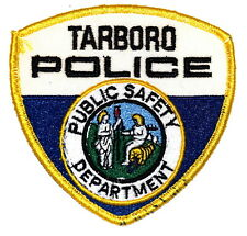 TARBORO – PUBLIC SAFETY – NORTH CAROLINA NC Police Sheriff Patch STATE SEAL ~