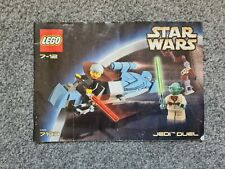 Lego Vintage Space Star Wars 7103 Jedi  **Instructions only **good condition