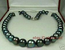 43cm,collier,vogue,noir,Akoya,perles d'eau douce,natural, 8-9mm