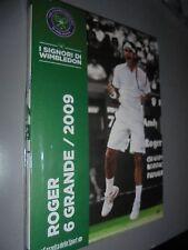 I SIGNORI DI WIMBLEDON DVD N°9 ROGER FEDERER 6 GRANDE 2009 TENNIS