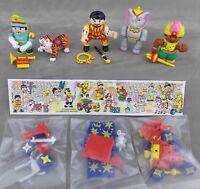 Haribo Sammel Figuren Zirkus Serie Manege frei 1999 Auswahl mit BPZ