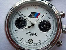 BMW M Power Motorsport Grand Prix Racing Rally DTM Style Sport Chronograph Watch
