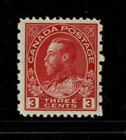Canada SC# 109, Mint Never Hinged - S2670