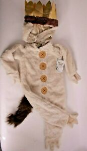 NWT Pottery Barn Kids Where the Wild Things Are costume, Max, 3t Halloween