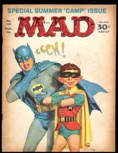 MAD MAGAZINE #105 G 1966 EC