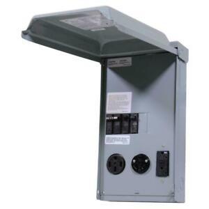 GE GE1LU532SS RV Outdoor NEMA Power Outlet Panels