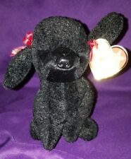 Ty Beanie Babie, GiGi, April 7, 1997, Poodle, Dog, NWT