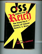 OSS Against the Reich - WW II Diaries of Col. Bruce,  1st US  HBdj VG