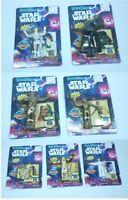 Lot of 7 1993 Star Wars BendEms Figures C-3PO R2-D2 Leia Vader Skywalker Chewy