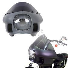 Front Upper Fairing Windshield Headlight For Harley Street Bob FXRT Super Glide