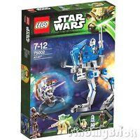 Lego Star War 75002 AT-RT Clone Walker 501st Trooper Yoda Sniper & Droid NEW